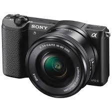 sony 16 70. sony alpha a5100 mirrorless digital camera with 16-50mm lens (black) 16 70