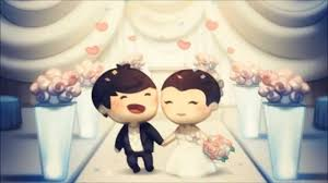 cute couple cartoon