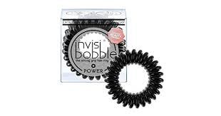 <b>invisibobble POWER True Black</b>, the spiral shaped strong grip hair ...