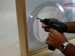 glass fitting pet door installation petway pet doors