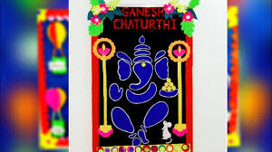 Ganesh Chaturathi Decoration Bulletin Board Ideas Ganpati For School Bulletin Board