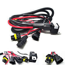 hid car truck fog exterior lights 9005 9006 relay wiring harness for hid conversion kit add on fog light led drl a