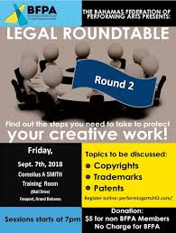 thebahamasweekly com legal roundtable 2 on copyrights trademarks patents sept 7th