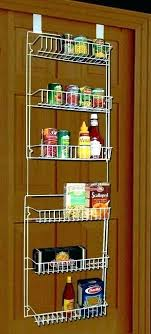 over door kitchen storage pantry cabinet accessories best mounted organizer with rack