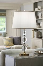 living room decor with contemporary solid crystal lamp living room lighting ideas crystal lamps