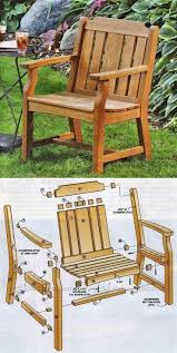 pallet patio furniture pinterest. Wood Outdoor Chair Plans Free Lawn Furniture Pallet Patio Diy Pinterest D