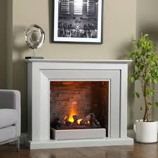 full image for recessed electric fireplace insert no heat linear intriguing heater white mantel decorative planter