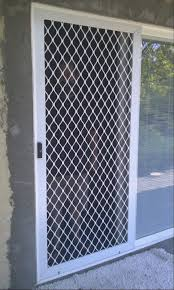 sliding security door