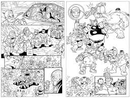 Marvel Comics Coloring Pages With Lego Avengers Also Batman Sheets