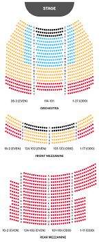 Kessler Stadium Seating Chart Broadway Theatre Seating Chart Watch West Side Story On