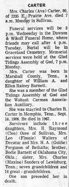 The Decatur Daily Review 20 Feb 1973 Ava Barnett Obit - Newspapers.com