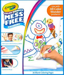 Crayola Color Wonder Blank Coloring Pages Christianbookcom
