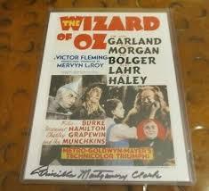 Priscilla Montgomery Wizard of OZ signed autographed photo Child Munchkin |  eBay
