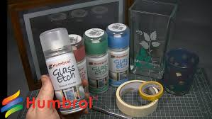 How To Etch Glass Humbrol How To Use Glass Etch Youtube