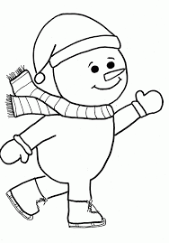 Small Picture Coloring Pages Snowman Page For Preschool Online Adults Printable