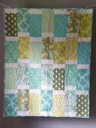 Gender neutral baby quilt. | Quilts | Pinterest | Quilt, Neutral ... & Modern Gender Neutral Baby Quilt Baby Girl Quilt by GoBeWonderful Adamdwight.com