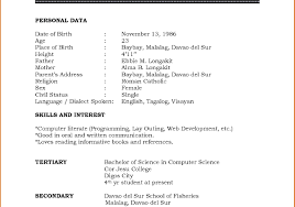 Awesome Standard Resume Format Doc Download Embellishment