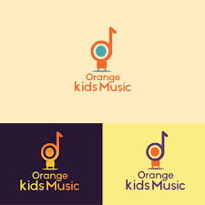 The color of the word. Design A Fun And Cool Logo For Orange Kids Music Logo Design Contest 99designs