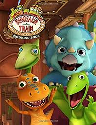 Similar of dinosaur train coloring pages more images. Dinosaur Train Coloring Book For Kids And Adults 30 Pages By Birtan Kochak