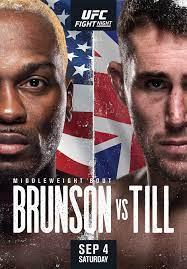 UFC Fight Night: Brunson vs. Till - Wikipedia