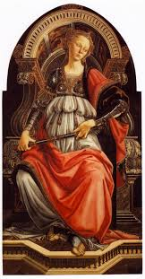 sandro botticelli painting allegory of fortitude