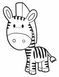 Small Picture Cute Zebra Coloring Page Download Print Online Coloring Pages