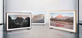 samsung tv picture frame. personalise the look of frame to complement your style. choose a customisable - white, beige wood or walnut best suit place even samsung tv picture i