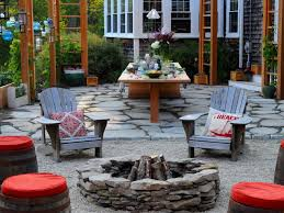 deck patio with fire pit. Sunken Conversation Pit Deck Patio With Fire R