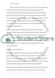 alternative tourism essay example topics and well written essays  alternative tourism essay example