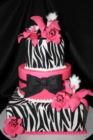 black fondant sheets zebra stripe birthday cake 11 x 15 white sheet cake with black