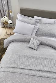 helena springfield petal white silver duvet cover superking to enlarge