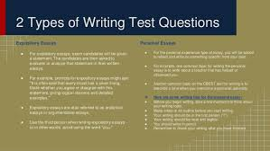 preparing for the cbest writing section 2 expository essays