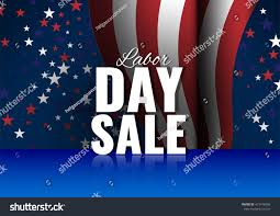 labor day theme labor day sale abstract american theme stock vector 477418306