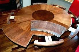 expanding round dining table expandable tables room hutch bettersg expanding round dining table simple design decor
