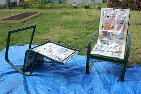 stupendous refurbish outdoor furniture with spray paint like new 1 ideas for painting metal patio furniture