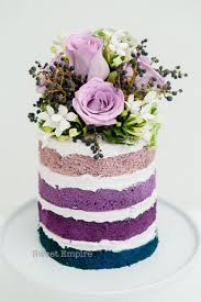 Cakes Cupcakes Purple And Turquoise Wedding Cake My Cake School