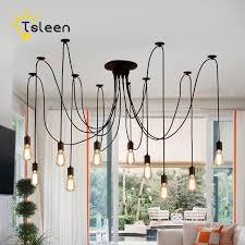 edison bulb pendant lighting. E27 E26 LED Retro Edison Bulb Pendant Lights DIY Ceiling Hanging Vintage Lighting T