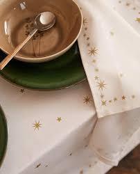 <b>GOLD STAR</b> PRINT NAPKIN (PACK OF 2) - CHRISTMAS | Zara ...