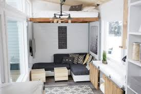 tiny house. The Bed In \u0027up\u0027 Position. Tiny House T