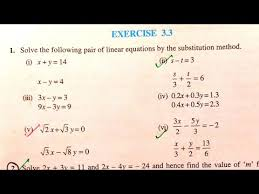 class 10 exercise 3 3 ncert solutions