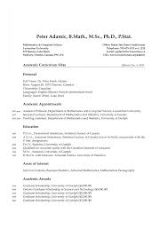 Stanford Resume Resume Science Bac Math Ref Myopng Jobsxs 14
