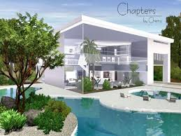 Small Picture Chapters Modern Home by Chemy Sims 3 Downloads CC Caboodle
