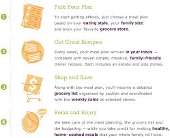 low cost meal planning service