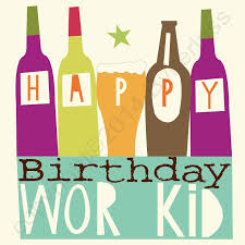 Kid Cards Happy Birthday Wor Kid North East Gifts