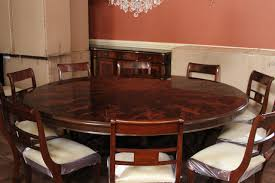 84 High End Large Round Mahogany Dining Table Dining Room Table