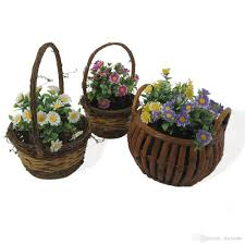artificial plants for office decor. 2018 Mini Artificial Plants In Imitated Wood Round Pots Table Flower Grasses Potted For Garden Office Home Decor 125 1048 From Meirose, I