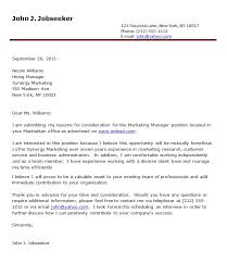 Cover Letter 34 Cover Letter Samples Free Download For Job Seeker