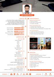 Entry 1 By Yeadul For Design Resume Templates With Css Html