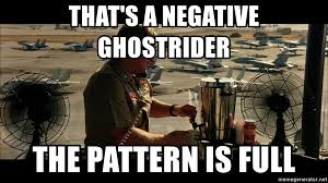 Negative Ghost Rider The Pattern Is Full