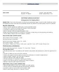 Nursing Resume Objective Unique Nursing Resume Objective Samples Caregiver Objectives Cover